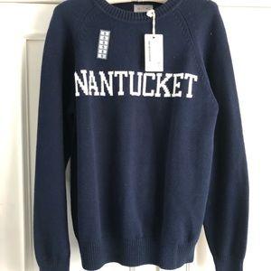 """New ! Hillflint """"Nantucket """" Cotton Blend Sweater"""